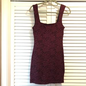 Free People Fitted Stretchy Dress NWOT